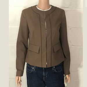 Doncaster Jacket Size 4 Cocoa Brown NWT MSRP $295